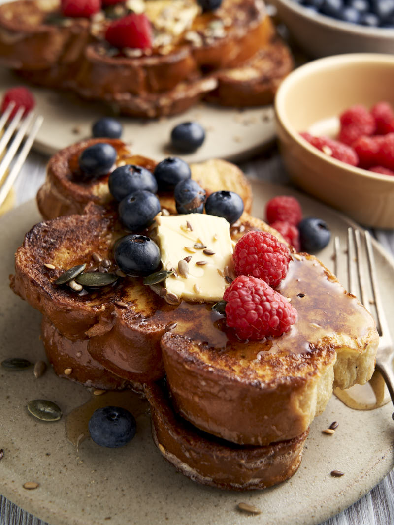 Challah French Toast - homemade breakfast ready to serve | The Worktop