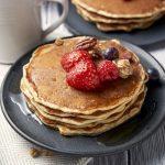 Easy Homemade Pancake Recipe - square image | The Worktop