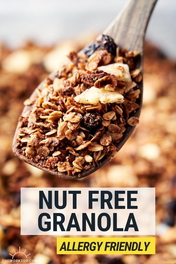 Best Nut Free Granola - homemade recipe | The Worktop