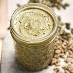 Sunflower and Pumpkin Seed Butter - a healthy nut free spread in a jar | The Worktop