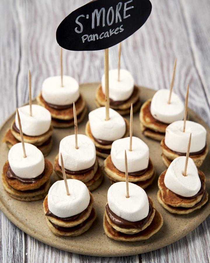 S'mores pancakes - cute and fun pancake ideas | The Worktop