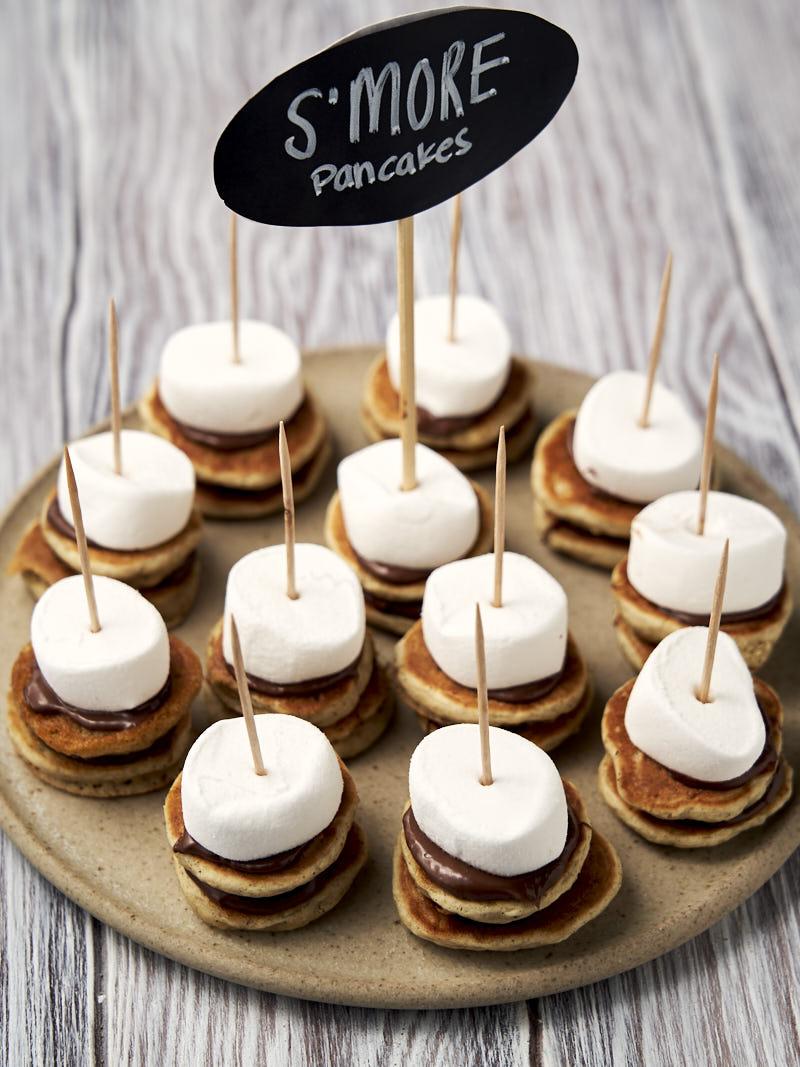 S'mores pancakes - cute and fun pancake ideas   The Worktop